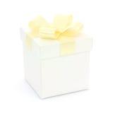 Gift box isolated Stock Photo