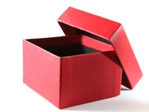 Gift box isolated Stock Photography