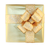 Gift box isolated Royalty Free Stock Image