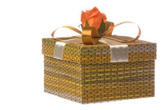 Gift Box Isolated Royalty Free Stock Photography