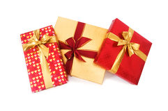 Gift box isolated Royalty Free Stock Images