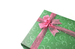 Gift box. The isolated gift box for the special occasion royalty free stock images