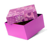 Gift box. Isolated on white Royalty Free Stock Photography
