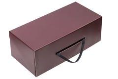 Gift box isolated on white Royalty Free Stock Image