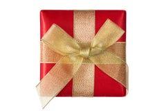 Gift box isolated on white background Stock Photography