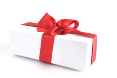 Gift  box isolated on white background Royalty Free Stock Image