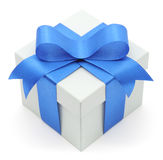 Gift box isolated Stock Images