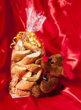 Gift box of Italian home made biscuits Stock Photo
