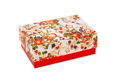 Gift box of japanese pattern Royalty Free Stock Image