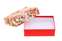 Gift box of japanese pattern Royalty Free Stock Photography