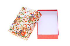 Gift box of japanese pattern Stock Photos