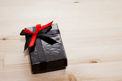 Gift box. On light background Stock Photos