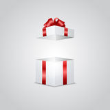 Gift box with light effect Stock Photo
