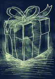 Gift box. Royalty Free Stock Image
