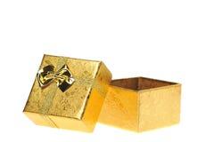 Gift box open Royalty Free Stock Photo