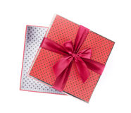 Gift box open Royalty Free Stock Image