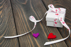 Gift box package Royalty Free Stock Images