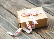 Gift box package Royalty Free Stock Image