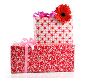 Gift box - path Stock Image