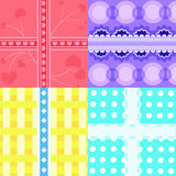 Gift box pattern Stock Photography