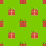 Gift box pattern Stock Photo
