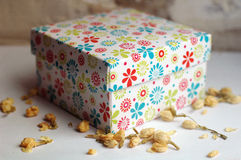Gift box. For a present Stock Photo