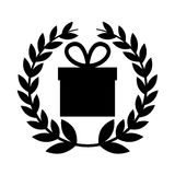 Gift box present icon Stock Images