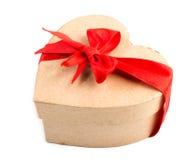 Gift box and red ribbon Stock Photo