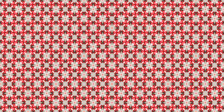 Gift box with red type. New texture of Christmas wrapping paper. Luxury gift wrapping. Background on Christmas Eve. Decorations for the presents Royalty Free Stock Image