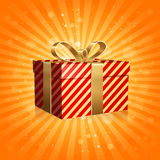 The Gift Box Royalty Free Stock Photography