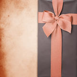 Gift box with ribbon Stock Image