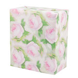 Gift box with roses Stock Photography