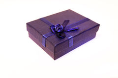 Gift box. With satin ribbon Stock Image