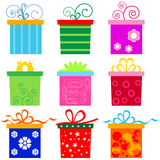 Gift Box Set Stock Images