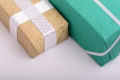 Gift box set, holiday concept Royalty Free Stock Photo