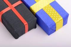 Gift box set, holiday concept Stock Photo