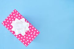 Gift Box. A studio photo of a gift box Stock Image