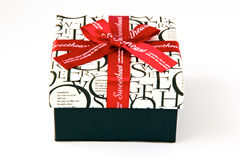 Gift box for sweetheart Stock Photos
