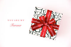 Gift box for sweetheart Royalty Free Stock Photo