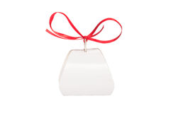 Gift box for sweets. Isolated on a white background stock image