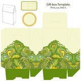 Gift box template Royalty Free Stock Photo