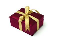 Free Gift Box - Thai Silk Stock Photos - 5374543
