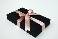 Gift box - Thai silk Stock Images