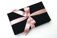 Gift box - Thai silk Stock Photography