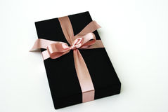 Gift box - Thai silk Stock Image