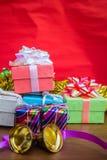 Gift box various Royalty Free Stock Photos