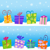 Gift box vector Stock Photos