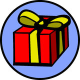 Gift box vector illustration Stock Image