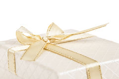 Gift box on white Stock Image