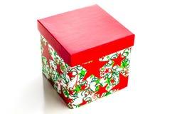 Gift box. On a white background Royalty Free Stock Photos